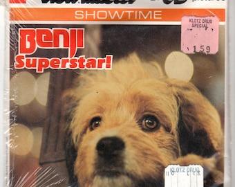 GAF View-Master For The Love of Benji H54 - 3 Reel Set + Booklet 1977 SEALED