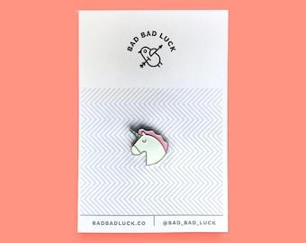 Horny unicorn Pin