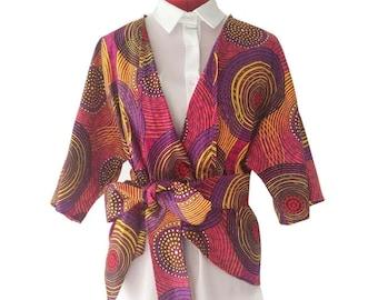 """top kimono jacket """"Ablavi"""""""