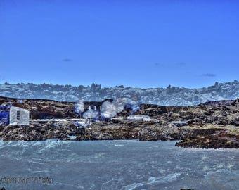 Iceland Blue Lagoon Photographic Art