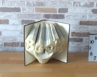 folded book - books / / Bookfolding / / book type / / Visual Arts / / gift / / decoration