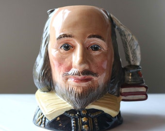 Royal Doulton Shakespeare Character Toby Jug D6938 by William K. Harper