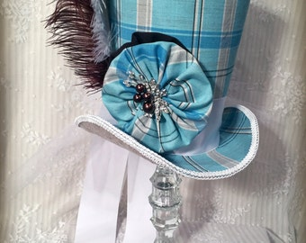 Mad Hatter Tea Party Centerpiece, Alice in Wonderland, Tea Party, Top Hat Centerpiece, Steampunk, Centerpiece, Top Hat, Shower Centerpiece