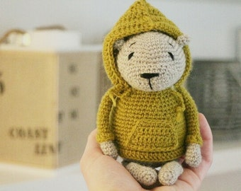 Luipold * crochet pattern teddy bear PDF language: english and german