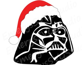 SVG File for Santa Darth Star Wars