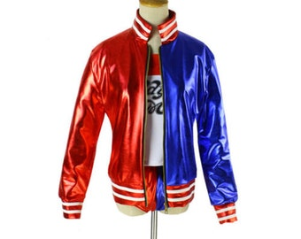 Harley Quinn Cosplay Suicide Squad Coat Lil Monster Jacket Costume