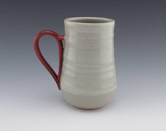 Studio Pottery Mug, Ceramic Handmade Mug, Handmade Mug, Ceramic Coffee Mug, Coffee Cup, 16 oz