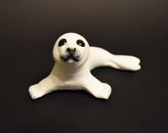 Harp Seal Pup Sculpture