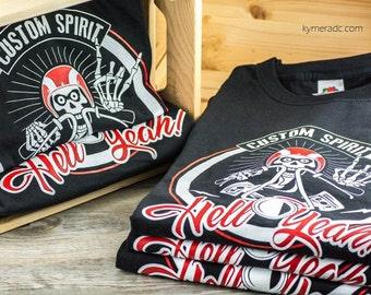 T-shirt CUSTOM SPIRIT (boy/girl)
