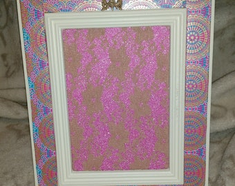 Purple Earring Holder