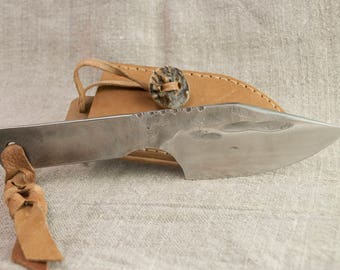 Hand Forged Knife  High Carbon Steel