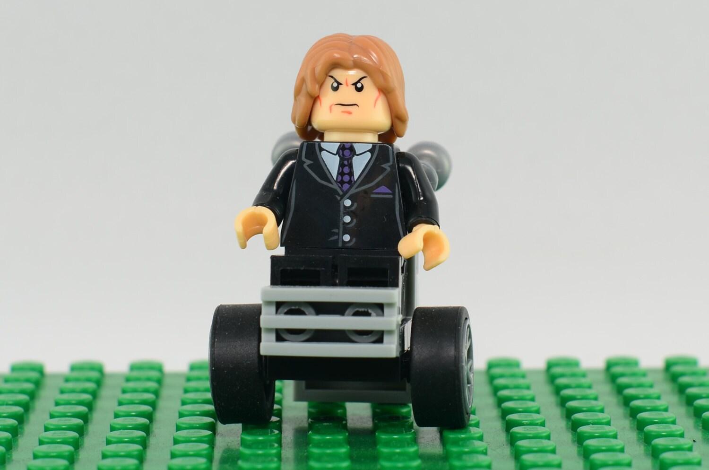 Xavier color printing - Professor X Custom Minifigure Lego Compatible Marvel Comic Superhero Charles Xavier Uncanny X