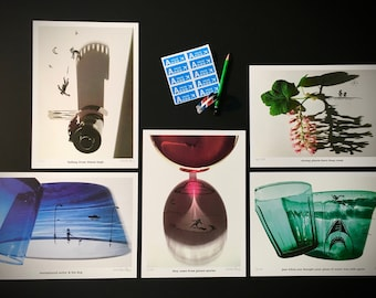 signed PRINTS – small silhouettes shadow pack