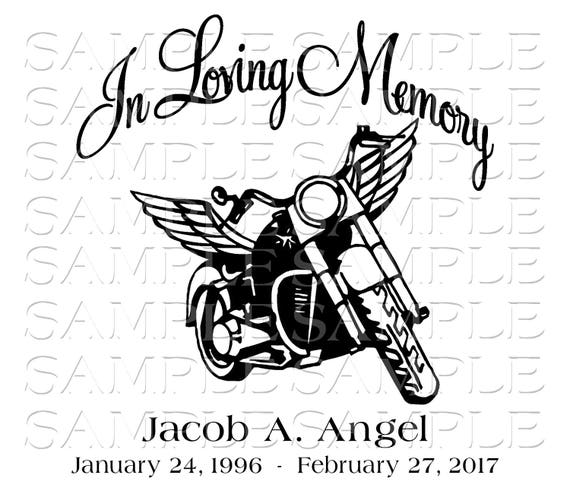 Vintage engine of motorcycle with wings Royalty Free Vector