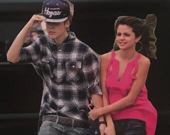 Justin & Selena Forevz, Single Magnet - Justin Beiber inspired, Selena Gomez inspired, Love, Couples
