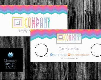 Multi Colored Chevron MuLa Cash - HO Approved Branding Guide Colors/Fonts - Company Moola/Bucks - Gift Certificates - Gift Prize Giveaway