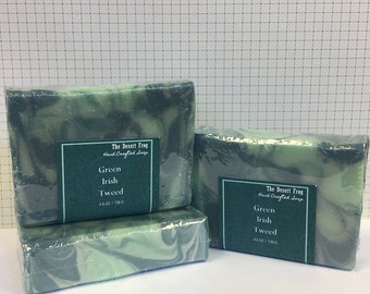Green Irish Tweed Mens Soap