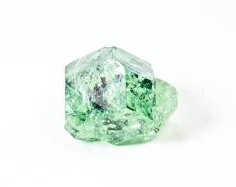 Mint Green Tsavorite Grossular Garnet from Tanzania, Africa 15