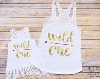 Mommy & Me Outfit, Baby Girl Clothes, Boho Baby Clothes, Mom and Me Shirts, Mommy and Me Tanks, Bohemian Clothes
