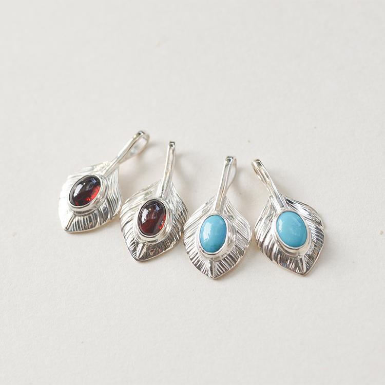Silver feather pendant native american inspired tribal for Native american feather jewelry