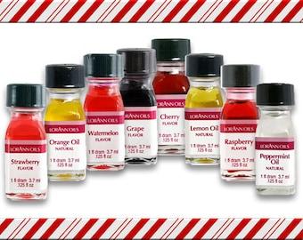 7 pack LorAnn - 1 dram size bottles - CHOOSE FLAVORS