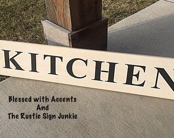 Great Rustic Kitchen Sign, Kitchen Signs, Kitchen Decor, Wood Kitchen Sign,  Country Kitchen