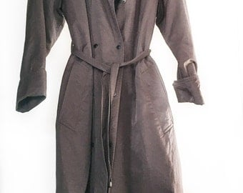 Ramosport Belted Trenchcoat 80s size M