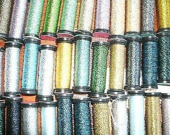 Kreinik Thread #8 - 6 PCS. Choose color from the list!