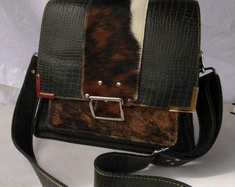 Custom Leather Handbag, Evening Bag, Crossbody Bag, Shoulder Bag, Leather Handbag.