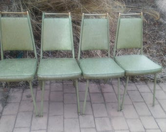 Mid Century Modern Howell metal dinning chair