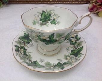 Royal Albert Ivy Lea teacup and saucer