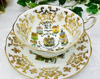 Paragon provincial coat of arms teacup