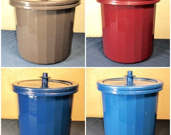 Vintage Tupperware Ice Buckets - Various Colors - 1683