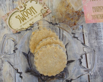 Eggnog Shortbread Cookies ~ Scottish Shortbread
