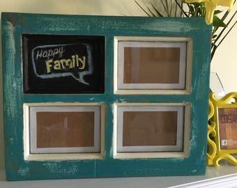Window PICTURE FRAME + BLACKBOARD - Reclaimed Wood
