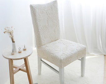 Beautiful Dining Chair Cover - Stretch Spandex - Dining Room - Wedding