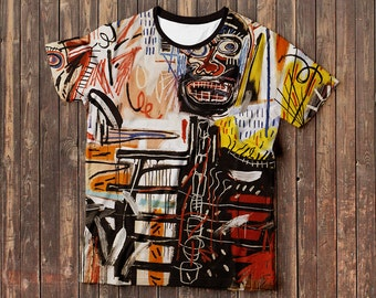 Philistines – Jean-Michel Basquiat t-shirt, Full Print, Free Shipping