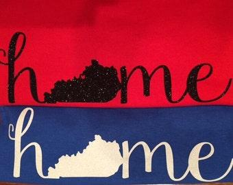 Kentucky Home Short Sleeve Shirt
