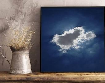 Cloud I Artwork - Framed / Unframed canvas / Print