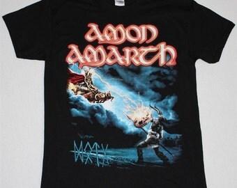 Amon Amarth Deceiver Of The Gods black t shirt