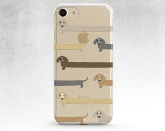 Iphone 6 Case Dachshund Iphone 7 Case Dog Iphone 5s Case Funny Iphone 5 Case Dachshund Phone Case Iphone 7 Plus Case Clear Case S7 Edge Case