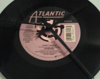 Genesis 45 Record Clock - I Can't Dance