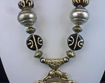Tibetan Talisman Treasure Necklace