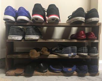 Shoe shelving