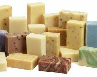 FREE SHIPPING!! 6 Homemade Soaps