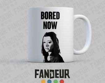 "Dark Willow ""Bored Now"" Buffy Coffee / Tea Mug"