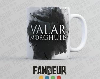 "Game of Thrones Inspired ""Valar Morghulis"" Coffee / Tea Mug"