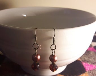 Beaded Hook Earrings