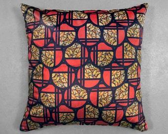 Geometric Art Deco Velvet Cushion