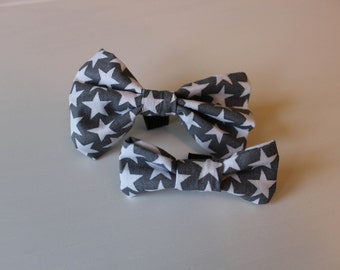 Alex Dog Bow Tie - Grey